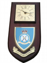 RAF Royal Air Force Regiment Wall Plaque Clock